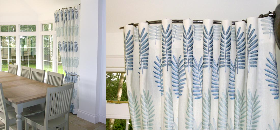 curtains by sandie - handmade curtains gallery